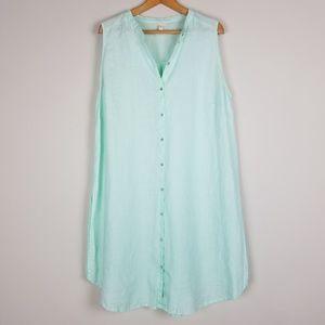 Eileen Fisher 100% Organic Linen 1x Tunic A1415
